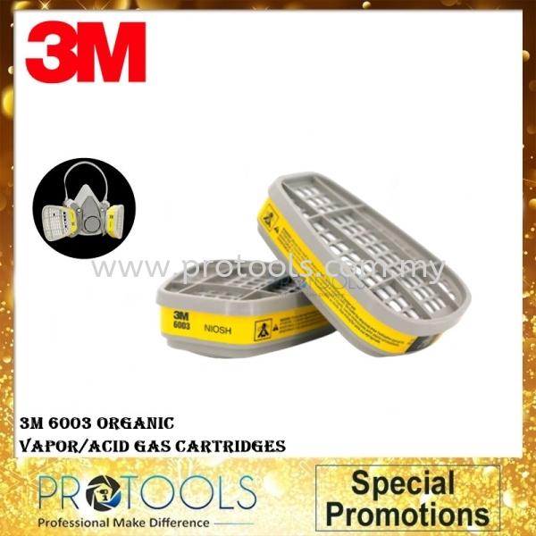 3M 6003 Organic Vapor/ Acid Gas Cartridge  COVID-19 Johor Bahru (JB), Malaysia, Senai Supplier, Suppliers, Supply, Supplies   Protools Hardware Sdn Bhd