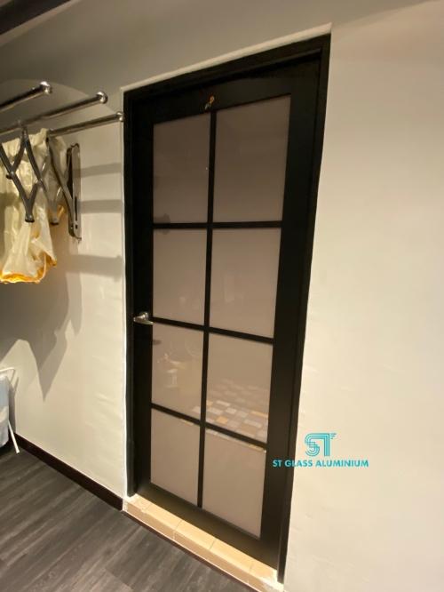 Lattice Design Swing Door