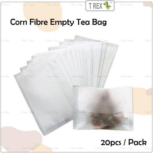 20pcs Corn Fibre Empty Tea Bag