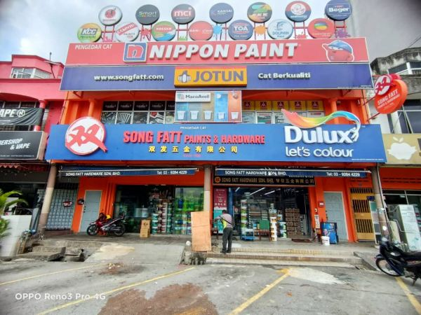Project Let's Colour DULUX Project Let's Colour DULUX Seremban, Nilai, Malaysia, Negeri Sembilan Manufacturer, Supplier, Supply, Supplies   A Class Neon Sign Sdn Bhd