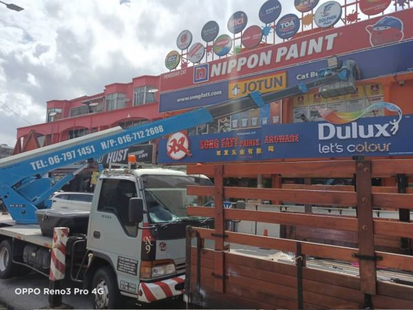 Project Let's Colour DULUX Project Let's Colour DULUX Seremban, Nilai, Malaysia, Negeri Sembilan Manufacturer, Supplier, Supply, Supplies | A Class Neon Sign Sdn Bhd