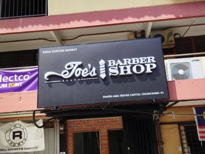 3d Led Boxup Signboard At Wison Signboard