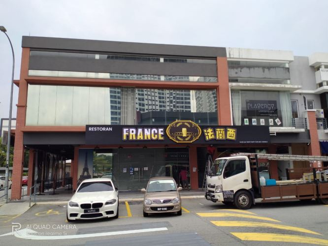 3d Led Boxup At Wison Signboard