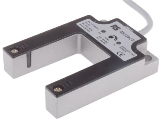 903-3927 - RS PRO Through Beam Photoelectric Sensor Fork Sensor, 30 mm Detection Range