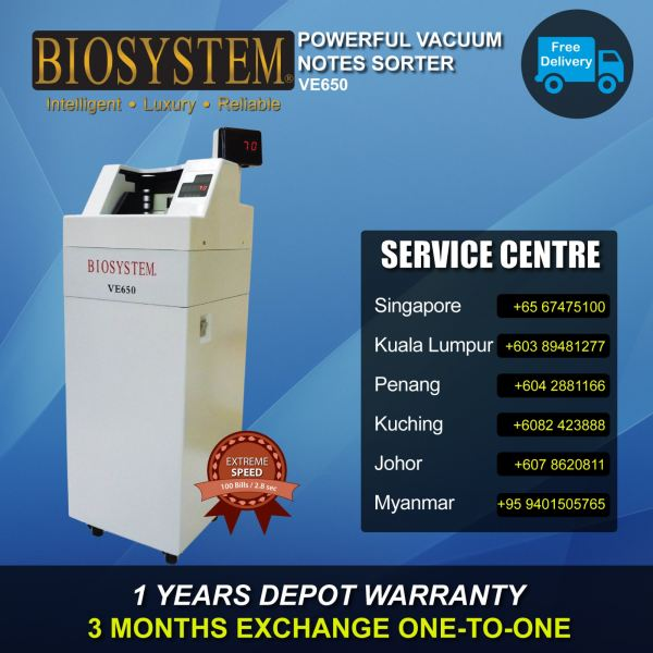 VE650 Notes Counter Banking Equipment Johor Bahru JB Malaysia Supply Suppliers Retailer | LEO Automation Trading