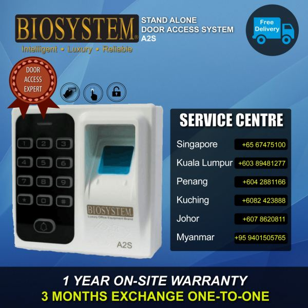 A2S Door Access System Time Attendance Johor Bahru JB Malaysia Supply Suppliers Retailer | LEO Automation Trading
