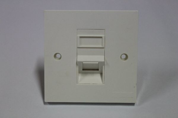 Single Port Faceplate 45degree Network Accessories Networking Products Puchong, Selangor, Malaysia  | Vol Solutions Sdn Bhd