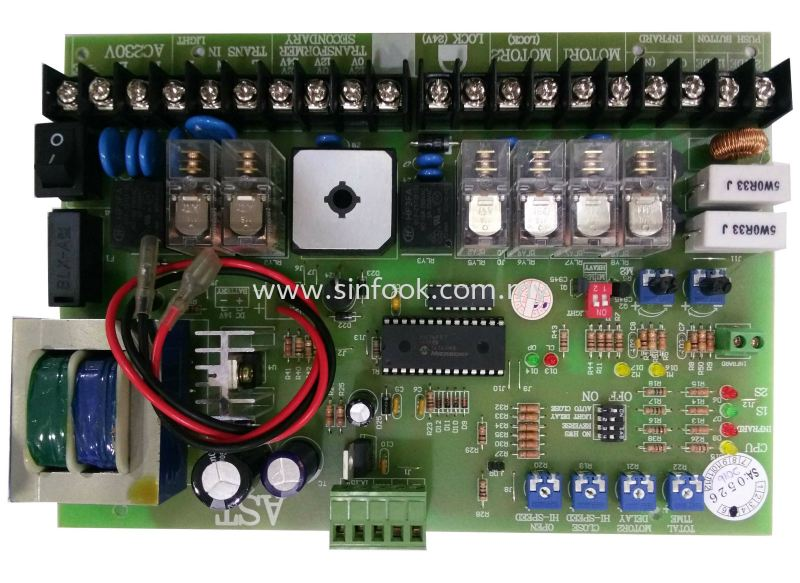 AST Control panel Control Panel Accessories Johor Bahru (JB), Senai, Selangor, Kuala Lumpur (KL), Klang Installation, Services, Repair, Supplier | Sin Fook Electrical Alarm and Auto Gate Sdn. Bhd.