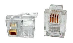 RJ11 Modular Plug 4P4C Telephone Accessories Telephone Components Johor Bahru (JB), Malaysia Suppliers, Supplies, Supplier, Supply | HTI SOLUTIONS SDN BHD