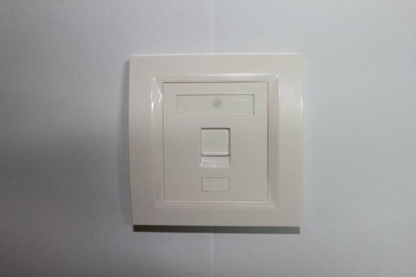 RJ45 Face Plate Cat5e ALL-LINK Single Port  Modular Plug, Modular Jack, Face Plate Networking Products Johor Bahru (JB), Malaysia Suppliers, Supplies, Supplier, Supply | HTI SOLUTIONS SDN BHD