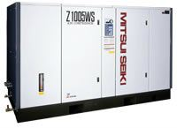 Z1005WS / Z1006WS Basic - Water Cooled Mitsui Seiki Air Compressors - Oil Flooded Puchong, Selangor, Kuala Lumpur (KL), Malaysia. Supplier, Suppliers, Supplies, Supply   ST Service & Trading Sdn Bhd / ST M&E Prudence Sdn Bhd