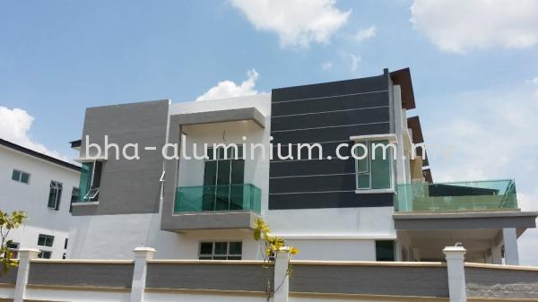 BALCONY TEMPERED GLASS Johor Bahru (JB), Johor, Muar Supplier, Suppliers, Supply, Supplies | BHA Aluminium & Glass Sdn Bhd