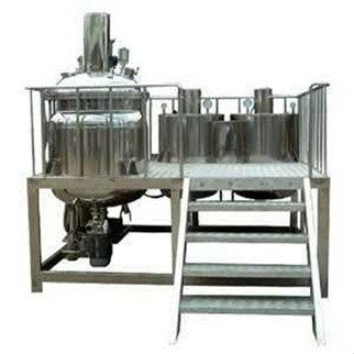 """DVH900-1000 """"Dyna Cosmo"""" 1000L Fix Types Vacuum emulsifier Mixers with Oil & Water Phase Tank ORDER CODE:8569500"""