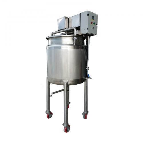 """MVHT-500 200Liter """"DYNA ROTATE"""" Double Jacketed Heating Vessel Tank ORDER CODE:551000"""