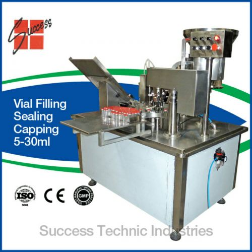 5-10ml ampoule vial filling and sealing machine