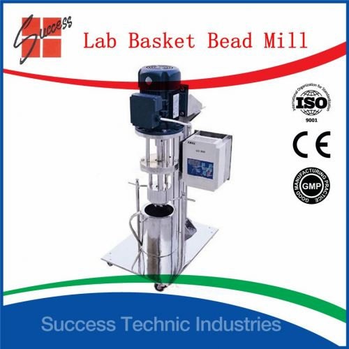 ML700-30 30liter lab basket mill with 3kg zirconia bead(electrical lifting)