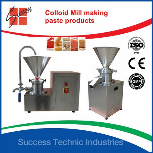ML700-80 4kW Colloid mill for paste products (lab and industrial type)