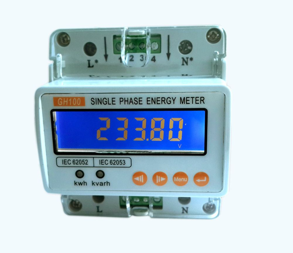 Energy Meter - GH100 Single Phase Energy Meter SaturnPyro Power Meters Johor Bahru (JB), Malaysia, Kuala Lumpur (KL), Singapore, Penang System, Solutions, Supplier, Supply | Saturn Pyro Sdn Bhd