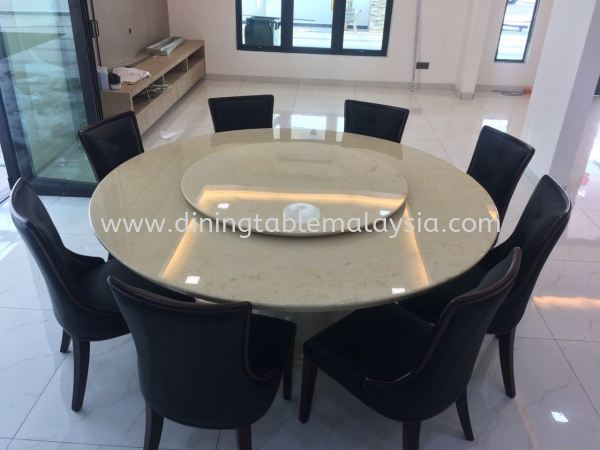 Beige Marble - Honey Beige Marble Dining Table Malaysia, KL Manufacturer, Exporter | DeCasa Marble Sdn Bhd