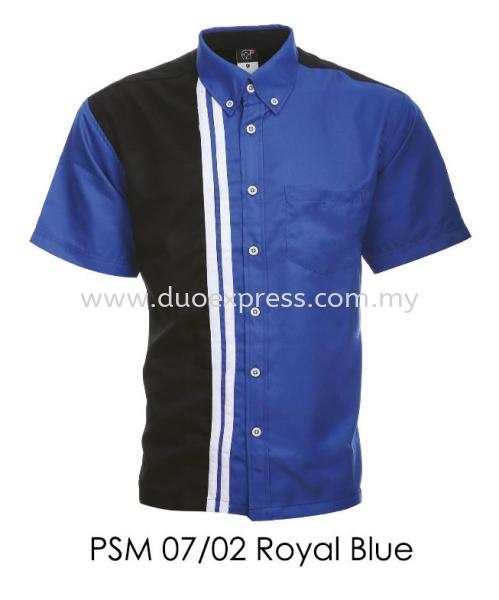 PSM 07 02 Royal Blue Unisex Corporate Shirt Corporate F1 Shirt- Unisex- Ready Made Malaysia Uniform Ready Made Malaysia, Selangor, Kuala Lumpur (KL), Petaling Jaya (PJ) Supplier, Suppliers, Supply, Supplies   Duo Express