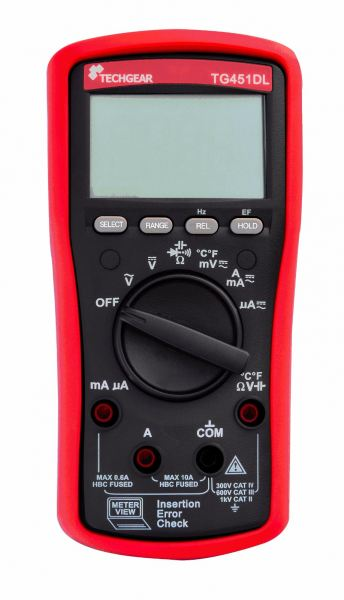TG451DL Digital Multimeter Multimeter Techgear Singapore Distributor, Supplier, Supply, Supplies | Mobicon-Remote Electronic Pte Ltd