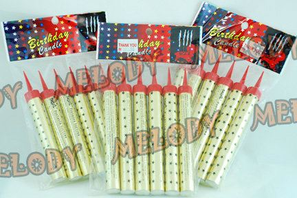 Firework Birthday Candle Sparkling Candles Candle Party