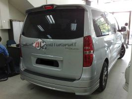 Hyundai Starex Rear Skirt Bodykit