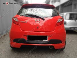Mazda 2 (Facelift) Hatchback TH Style Rear Skirt Bodykit