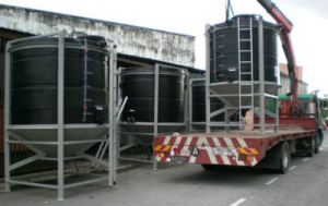 PE Conical Base Tank Model DVM Series