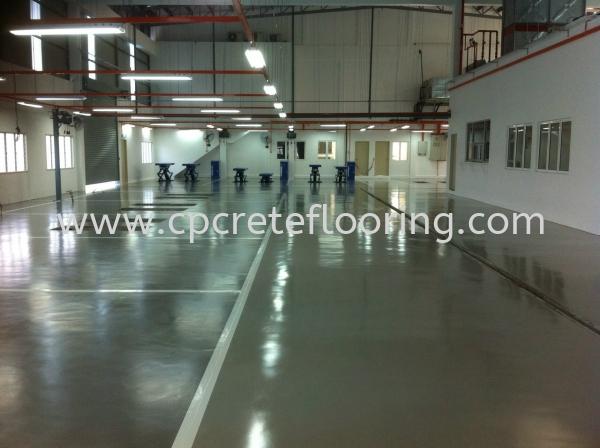 Honda Semenyih PU Flooring