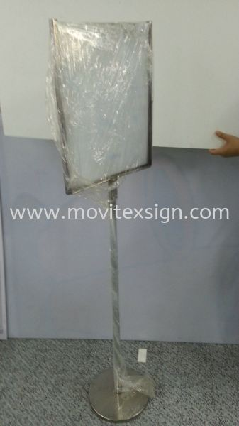Free Stand Signboard (Changable Plate)