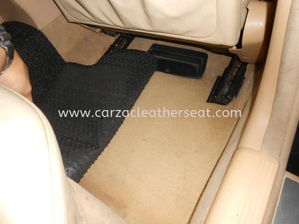 MERCEDES BENZ E240 REPLACE CARPET