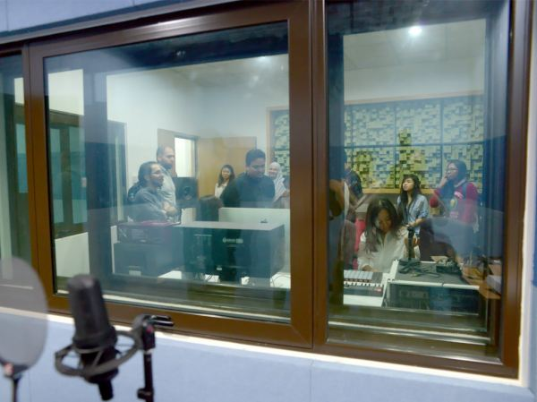 Recording Studio at MMU