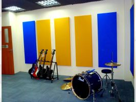 Music Practice Room at EPSOM College