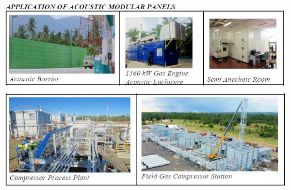 Application of Acoustic Modular Panel