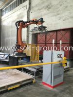 Palletizing Robot Successful Running At Production