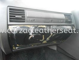 BMW DASHBOARD DRAWER REPLACE LEATHER