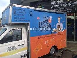 At the most affortable price in malaysia, kuala lumpur, selangor food truck sticker wrapping and ins
