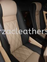 Bentley Continental GT Replace Nappa Leather Seat
