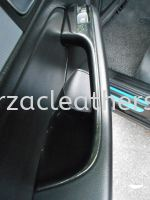 AUDI RS Q5 DOOR PANEL POWER WINDOWS CARBON FIBRE WATER TRANSFER