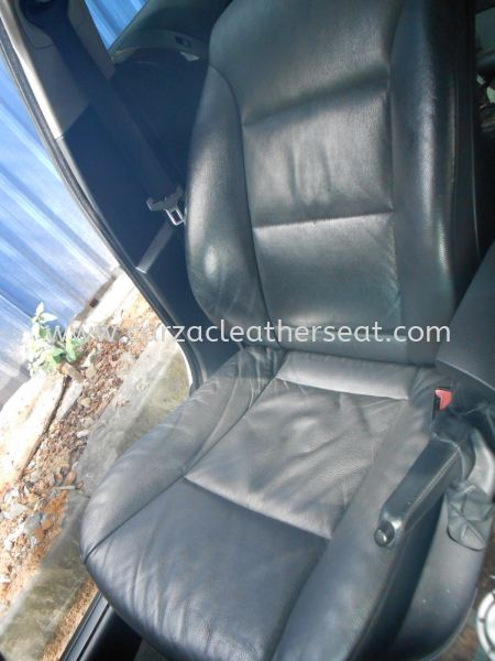 BMW 523I  E60 REPLACE LEATHER SEAT