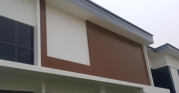 Aluminium Strip Facade