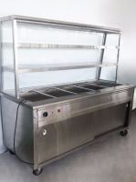 Bain Marie Five Compartment With Display Showcase