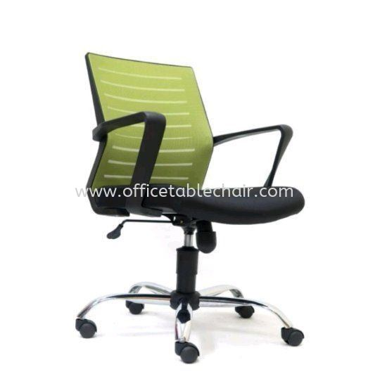BURNLEY MESH CHAIR WITH CHROME BASE ASE2735