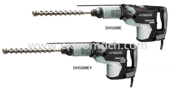 dh52mey rotary hammer hitachi sds-max with ac brushless motor