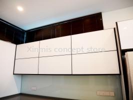 Aluminium kitchen cabinet - Desa Petaling