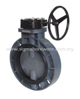 PVC Butterfly Valve - Gear Type