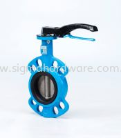 Ductile Iron Butterfly Valve - Stainless Steel Disc
