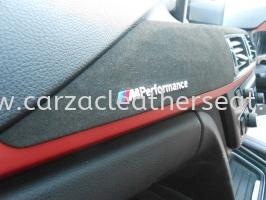 BMW F30 M Performance Logo + Alcantara Leather