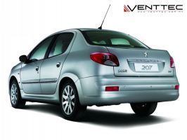 PEUGEOT 207 SEDAN venttec door visor